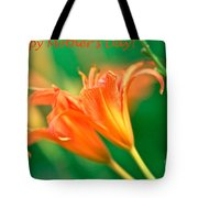 Bright Mother's Day Card Tote Bag