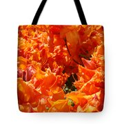 Bright Orange Rhodies Art Prints Canvas Rhododendons Baslee Troutman Tote Bag