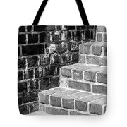 Bright Steps Dark Wall Tote Bag