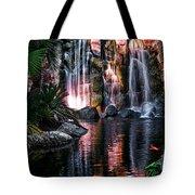 Bright Waterfalls Tote Bag