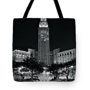 Bright White Lights At Night Tote Bag