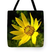Bright Yellow Flower Tote Bag