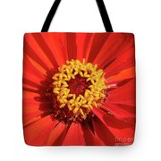 Bright Zinnia Tote Bag