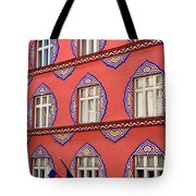 Brightly Colored Facade Vurnik House Or Cooperative Business Ban Tote Bag