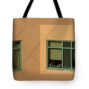 Brightly Geometric Tote Bag