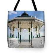 Brighton Seafront Gazebo Tote Bag