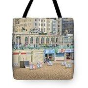Brighton Seaside  Tote Bag