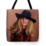 Brigitte Bardot Painting 1 Tote Bag