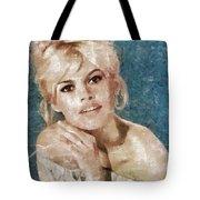 Brigitte Bardot, Actress Tote Bag
