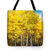 Brilliant Aspens Tote Bag