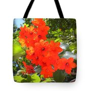 Brilliant Blossoms Tote Bag