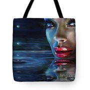 Brilliant Eyes Water Tote Bag