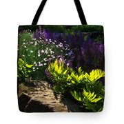 Brilliant Green Sunshine - Impressions Of Spring Tote Bag