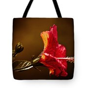 Brilliant Hibiscus Tote Bag