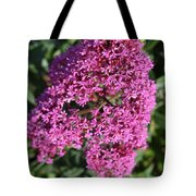 Brilliant Hot Pink Flowering Phlox Flowers In A Garden Tote Bag