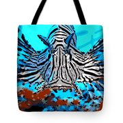 Brilliant Stripes Tote Bag by George Pedro