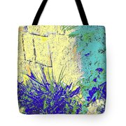 Brimstone Blue Tote Bag