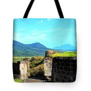 Brimstone Towards Nevis Tote Bag