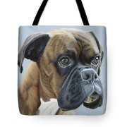 Brindle Boxer Dog - Jack Tote Bag
