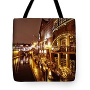 Brindleyplace At Night Tote Bag