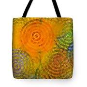 Bring Down Colored Rain Tote Bag