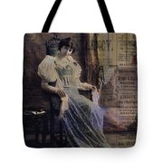 Bring Up The Curtain Tote Bag