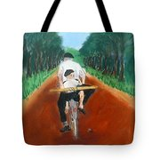 Bringing Home The Daily Bread Tote Bag