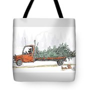 Bringing Home To The Mrs. Tote Bag