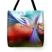 Bringing In The Light Tote Bag
