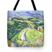 Briones Crest In May, Lafayette, Ca Tote Bag