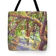Briones Forest Near Springhill Road Tote Bag