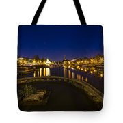 Bristol Docks By Night  Tote Bag