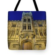 Bristol Guildhall By Night Tote Bag