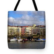 Bristol Harbour Appartments Tote Bag