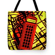 Brit Phone Box Tote Bag