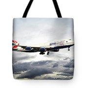 British Airways 747 G-civi Tote Bag