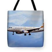 British Airways Airbus A319-131 Tote Bag