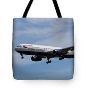 British Airways Boeing 767 Tote Bag