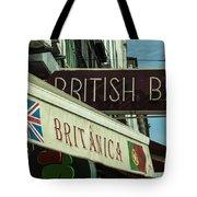 British Bar Britanica  Tote Bag