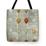 British Birds Eggs Tote Bag