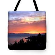 British Columbia Sunset Tote Bag