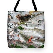 British Fish Market Tote Bag