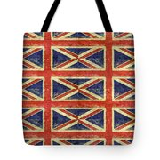 British Flag Collage One Tote Bag