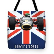 British Lotus Tote Bag