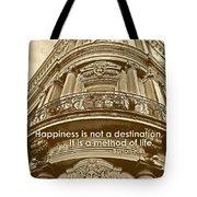 British Relief Quote Tote Bag
