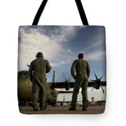 British Royal Air Force C-130j Tote Bag