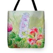 British Wild Flowers Tote Bag