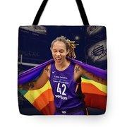 Brittney Griner Lgbt Pride 3 Tote Bag