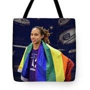 Brittney Griner Lgbt Pride 4 Tote Bag