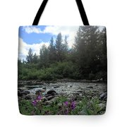 Somewhere Over The Mountains 2 Tote Bag